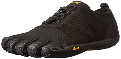 check out 3f997 66cee Vibram FiveFingers Trek Ascent, Chaussures Multisport Outdoor Homme, Noir  (Black), 41