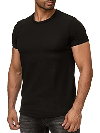 c78d722e936365 Red Bridge Herren T-Shirt mit Struktur Kurzarmshirt Rundhals: Amazon.de:  Bekleidung