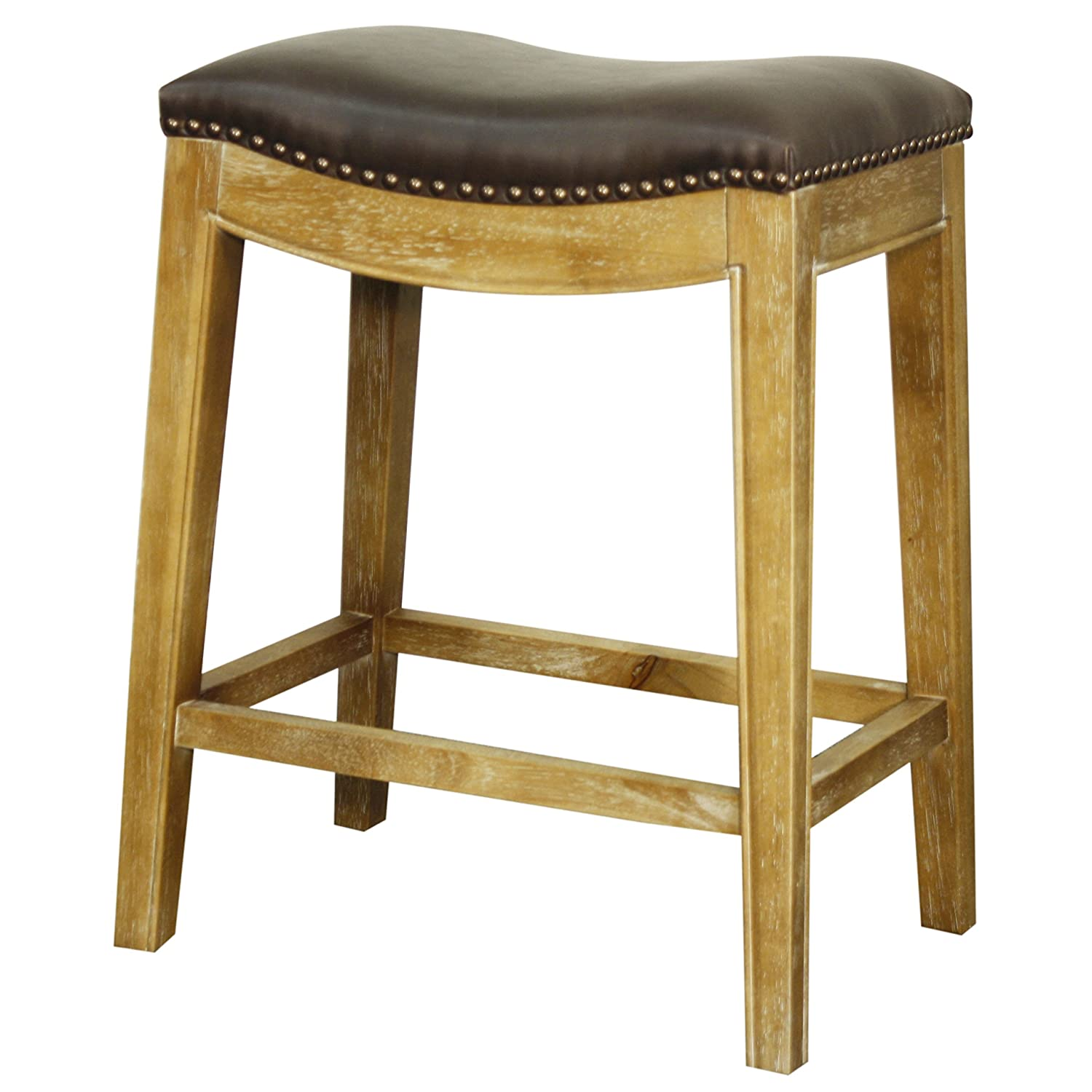 Fabulous New Pacific Direct Elmo Bonded Leather Counter Stool Weathered Smoke Legs Vintage Dark Brown Fully Assembled Caraccident5 Cool Chair Designs And Ideas Caraccident5Info