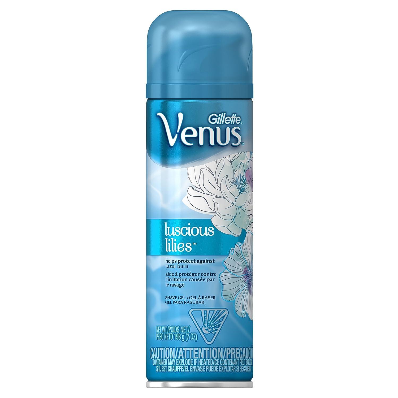 Gillette Venus Luscious Lillies Shave Gel, 198g