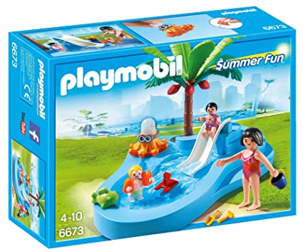 PLAYMOBIL Baby Pool With Slide