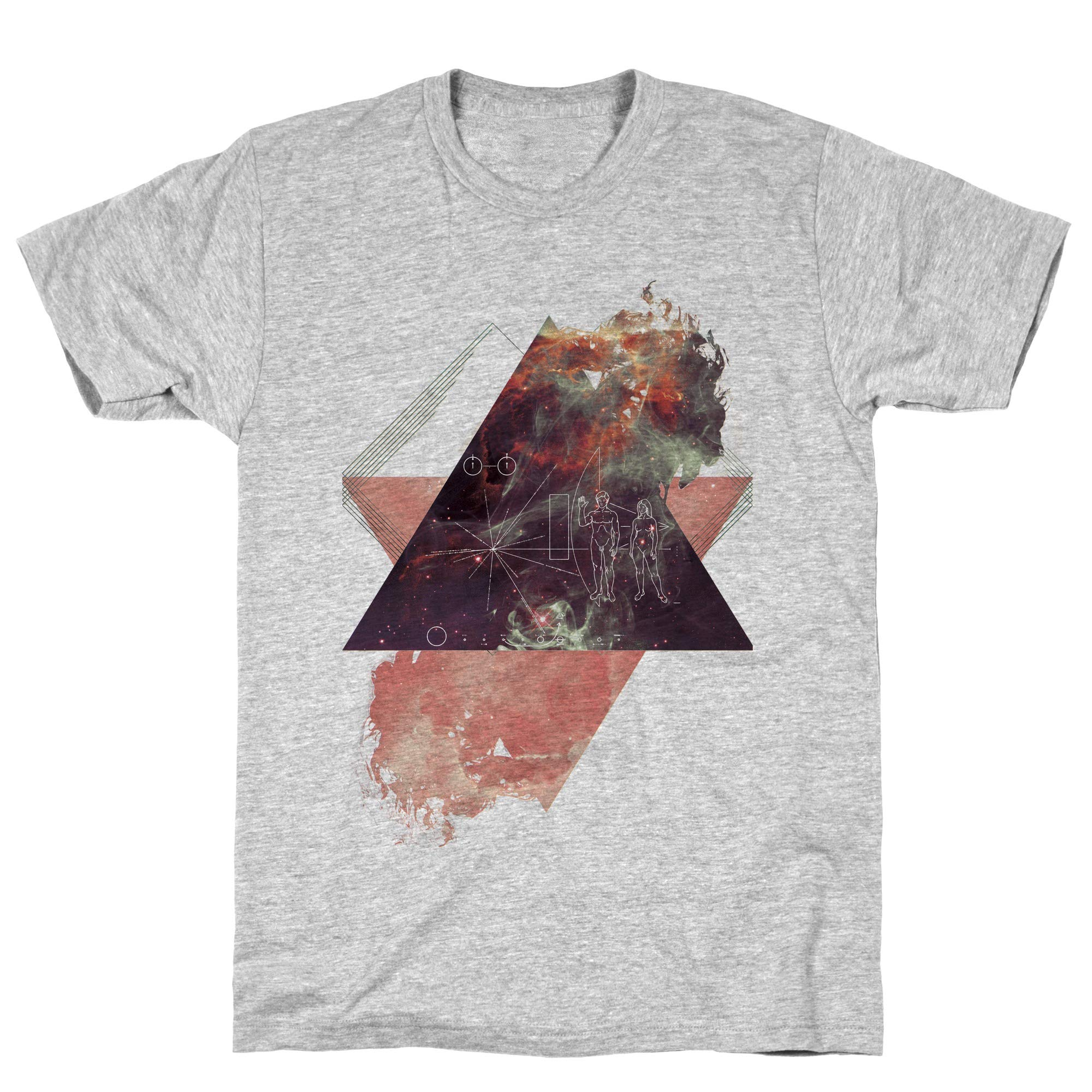 Pioneer Plaque Athletic Gray S Ts Shirts