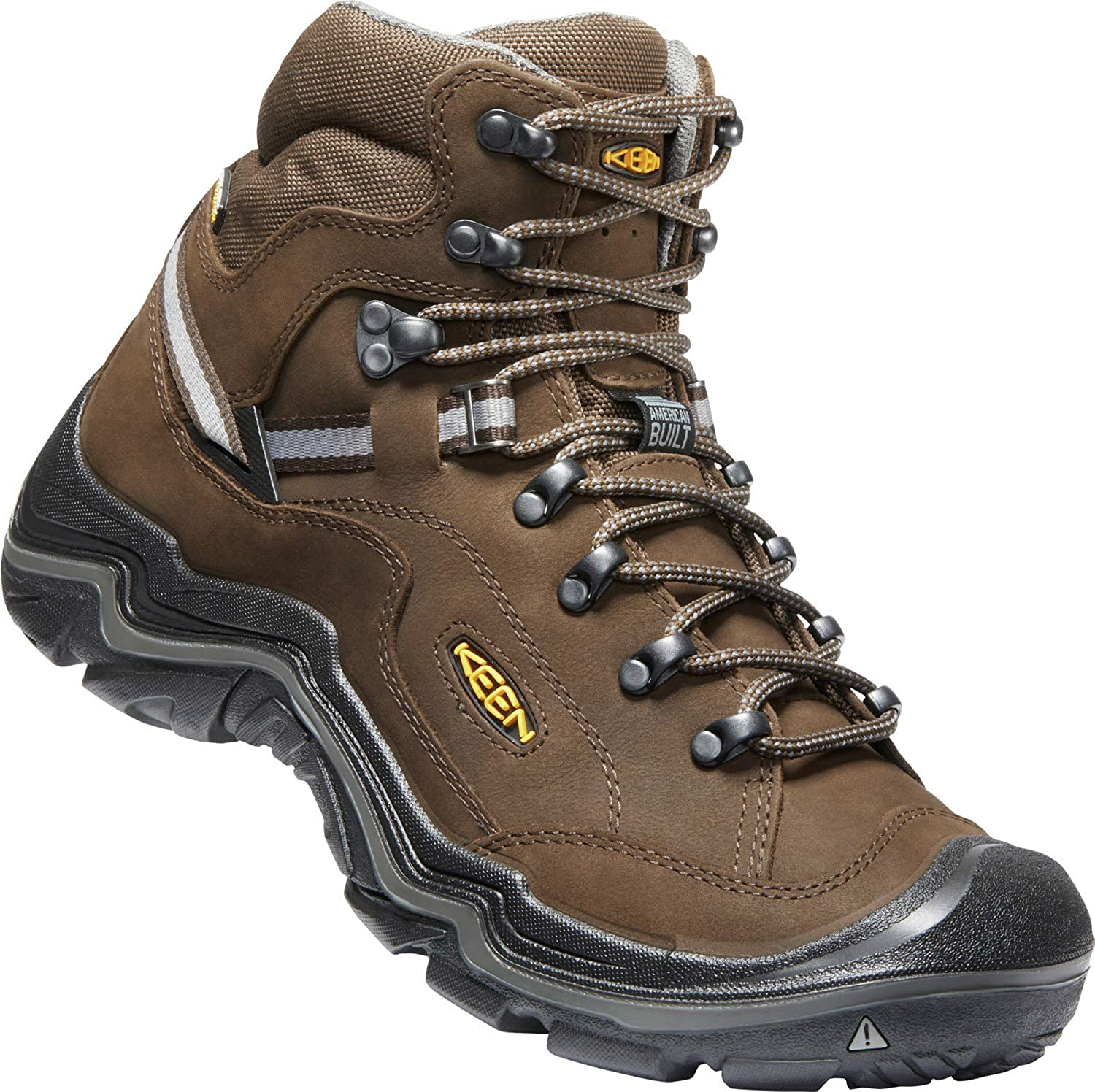 KEEN Waterproof Hiking Boots Mens Durand II Mid WP Wide