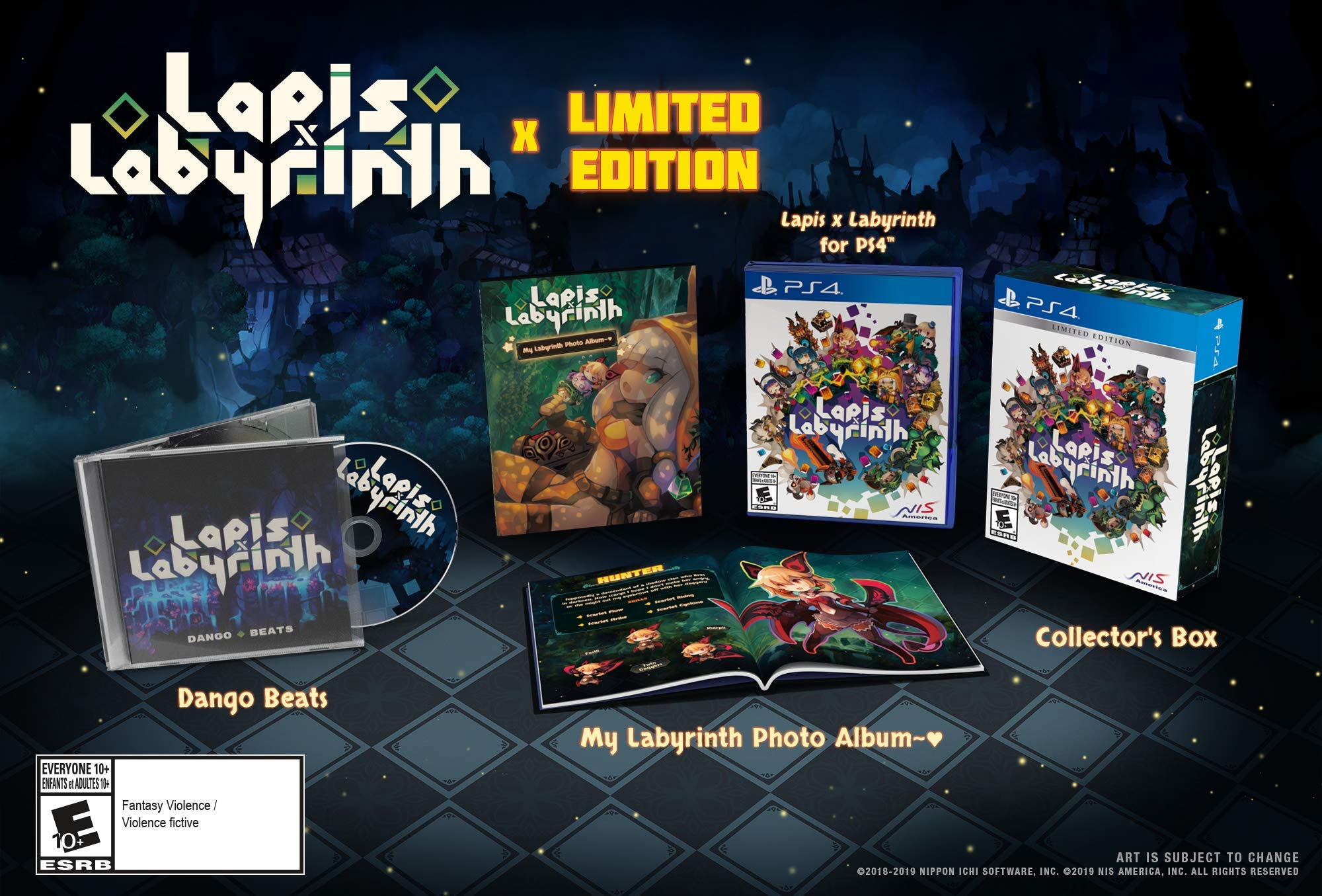 Lapis x Labyrinth Limited Edition - Playstation 4
