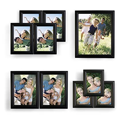 WOLTU 10 Piece Picture Frame Set Gallery Multi Size Wall Frame Set ...