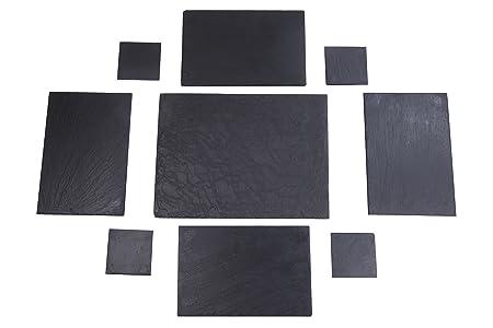 Izasur-Spain Número 3 Composición de Mesa, Piedra, Negro, 40x30x4 ...