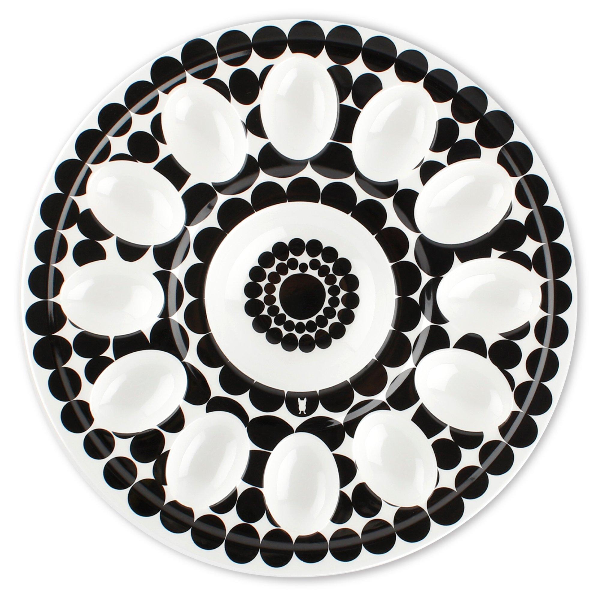 French Bull 12'' Egg Tray - Melamine Dinnerware - Platter, Dish, Serving, Deviled, Easter - Foli