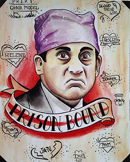 92e25c23e Image Unavailable. Image not available for. Color: Get Motivation Prison  Mike The Office Poster Print ...