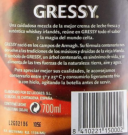 Gressy Crema de Whisky - 700 ml