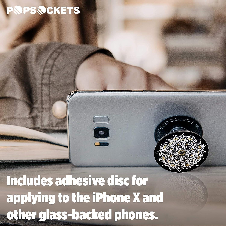 No Intercambiable Ceiling para Tel/éfonos M/óviles y Tabletas PopSockets Soporte de Expansi/ón y Agarre