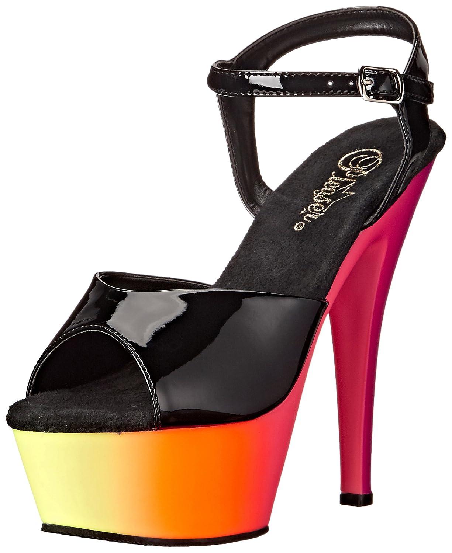 Pleaser Womens RBOW209UV//B//NMC Platform dress Sandal