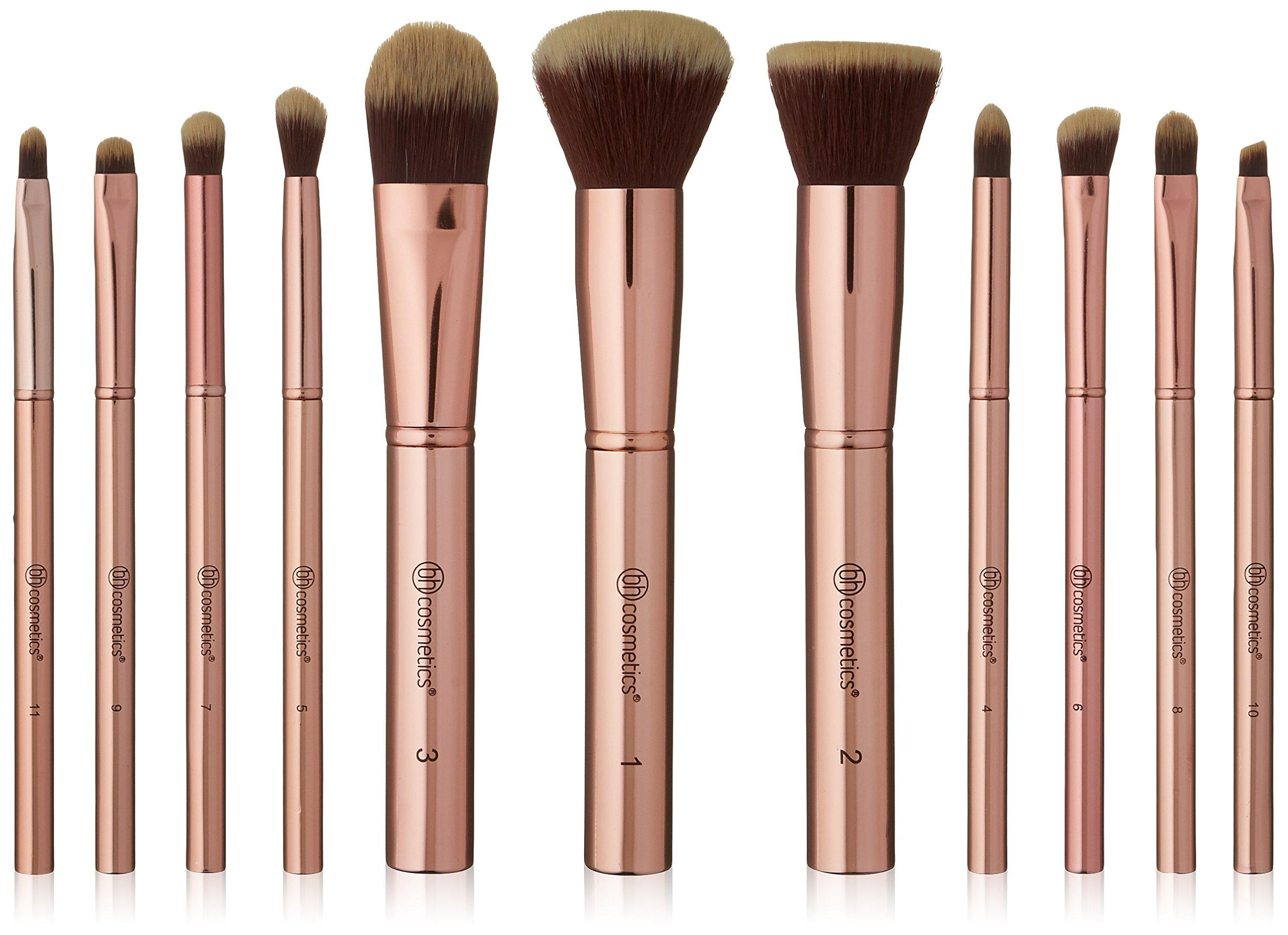 dae7605f17df6 Amazon.com  Pink-A-Dot - 11 Piece Brush Set  Beauty