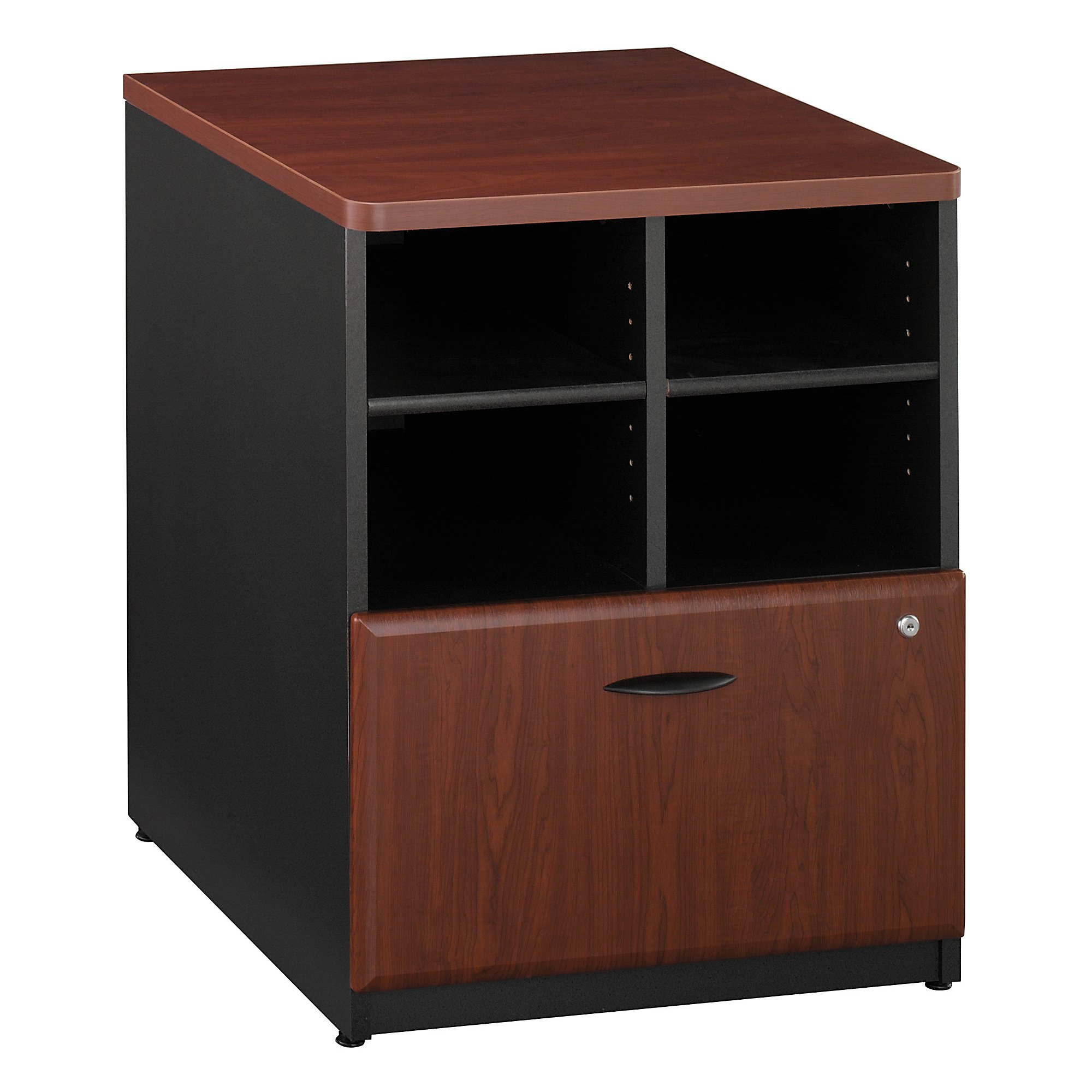 Bush Business Furniture Series A Collection 24W Piler Filer in Hansen Cherry by Bush Business Furniture