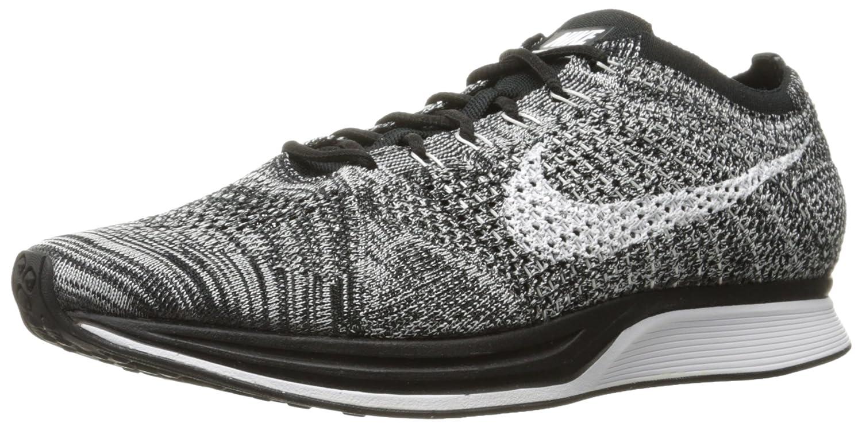 Noir, blanc Nike Flyknit Racer, Chaussures de Running Entrainement Homme 45 EU