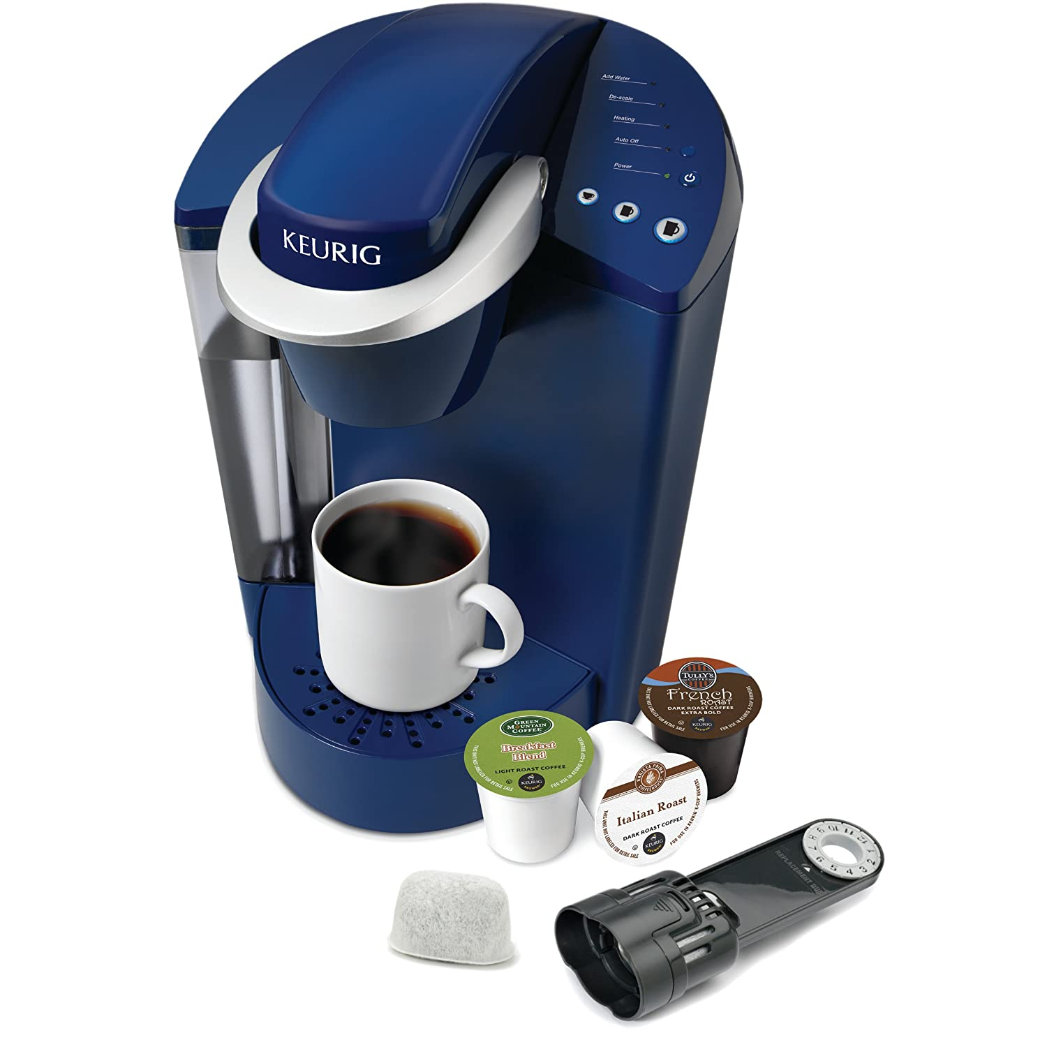 Amazoncom Keurig K45 Elite Brewing System Patriot Blue Kitchen