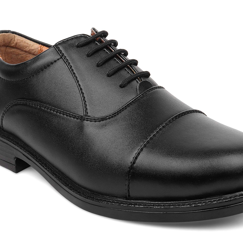 Buy BATA Remo Men Black Formal Shoes at
