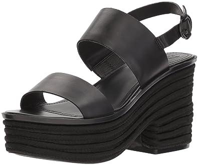 4bab947b9f Amazon.com | GUESS Women's Ninetta Wedge Sandal | Platforms & Wedges