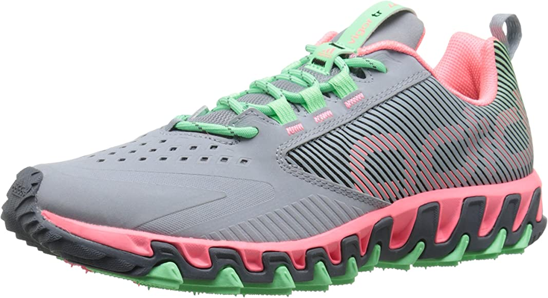 fluido Condimento inestable  Amazon.com | adidas Performance Women's Vigor 5 TR W Trail Running Shoe,  Light Grey/Light Flash Red/Light Flash Green, 11.5 M US | Trail Running
