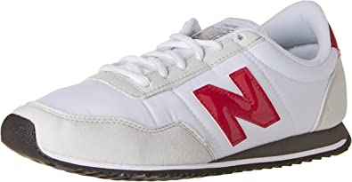 Existe Haz lo mejor que pueda pivote  New Balance Men's U396 Low-Top Sneakers, White (White/Fuchsia), 7 UK:  Amazon.co.uk: Shoes & Bags