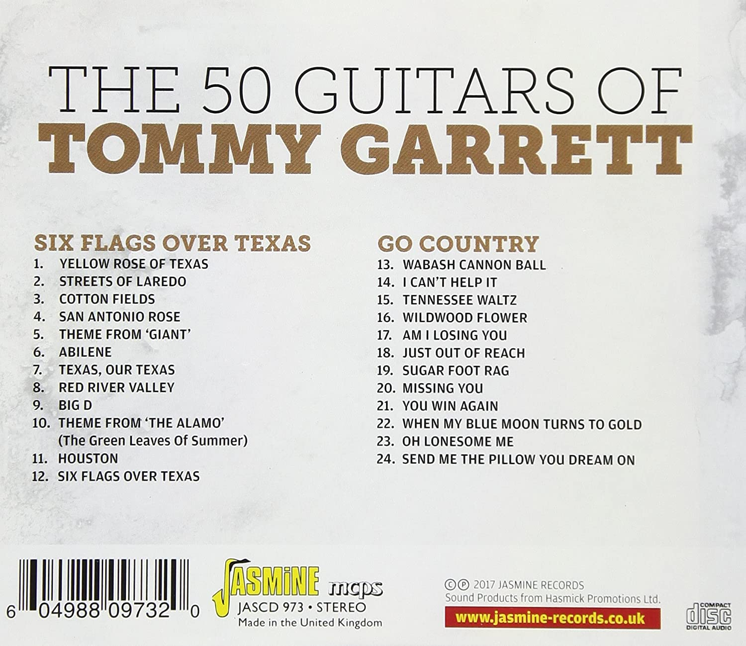 50 GUITARS OF TOMMY - Six Flags Over Texas & Go Country - Amazon com