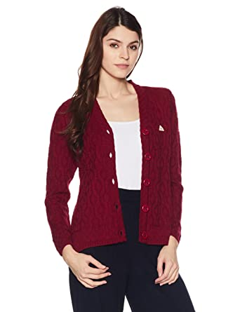 Monte Carlo Women\u0027s Cardigan (1173502VN,1055_Red_36)