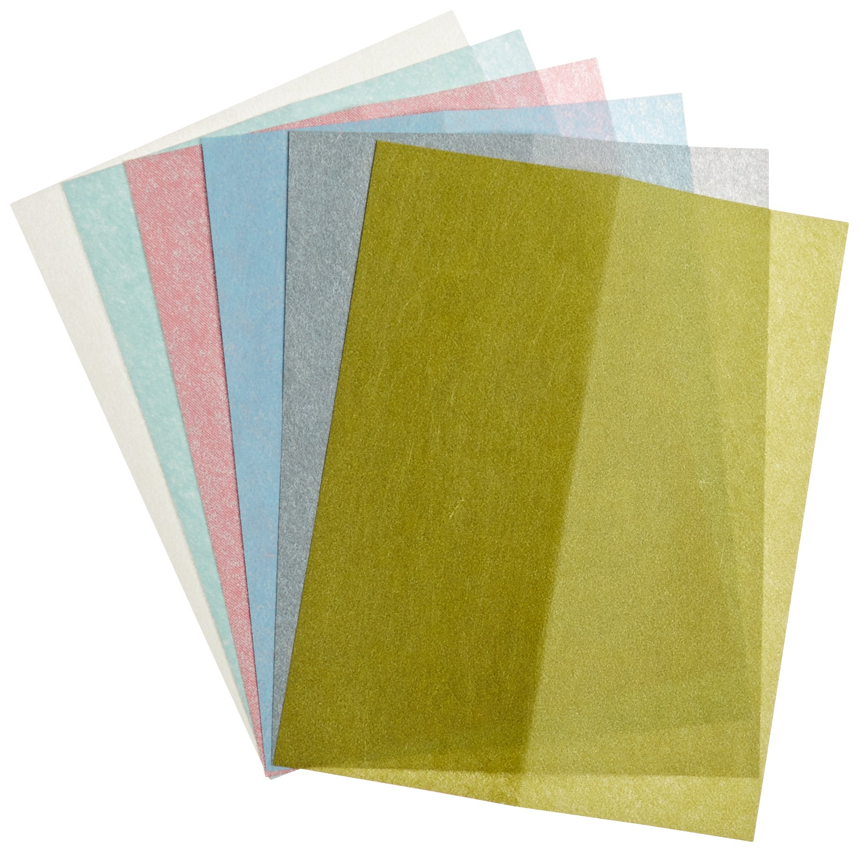 Zona 37-948 3M Wet/Dry Polishing Paper, 8-1/2-Inch X 11-Inch, Assortment Pack One Each 1, 2, 3, 9, 15, and 30 Micron by ZONA