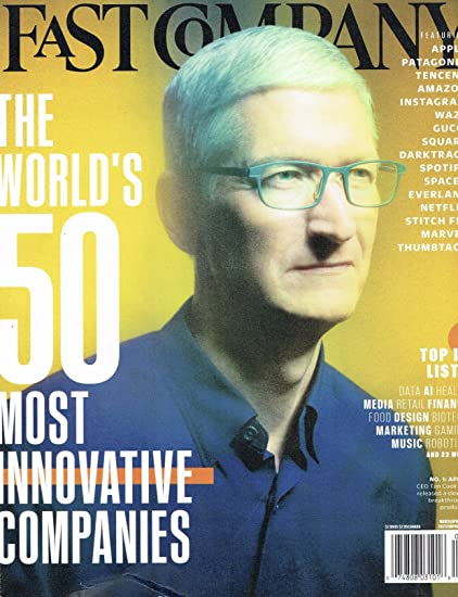 693d2bc08b Amazon.com   Fast Company March April 2018 CEO Tim Cook - The World s 50  Most Innovative Companies Single Issue Magazine - 2018   Everything Else