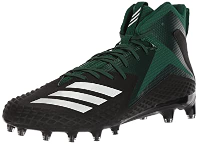 best sneakers f7d00 12773 Image Unavailable. Image not available for. Color adidas Mens Freak X  Carbon Mid Football Shoe, core BlackWhiteDark Green