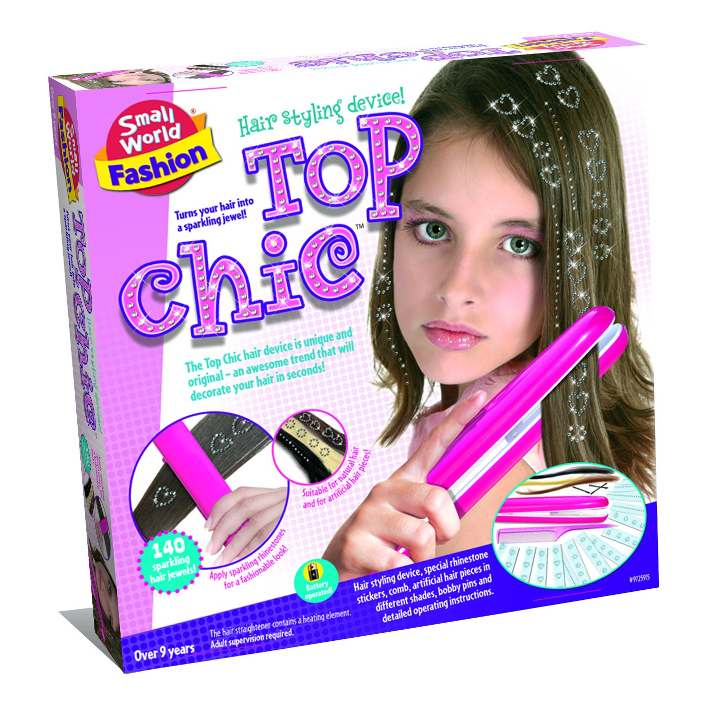 Small World Toys Fashion - Top Chic Hair Styling Set