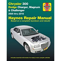 Chrysler 300 & Dodge Charger, Magnum & Challenger ('05-'18): (Does Not Include Information Specific to Diesel Engine…