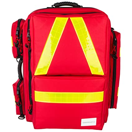 Mochila de emergencia Medicus XL rojo de nailon: Amazon.es ...