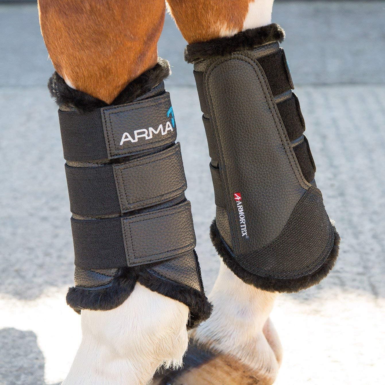 Shires Equestrian Arma fourrure doublé Bottes brossage Respirant De Refroidissement