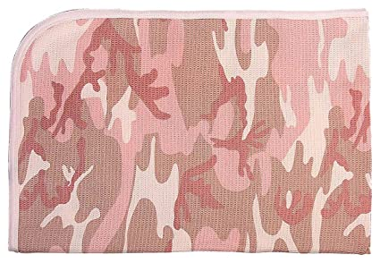a13b2837fefd Amazon.com: Rothco Infant Receiving Blanket, Baby Pink Camo: Sports ...