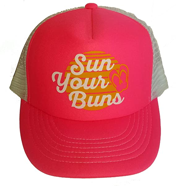 Image Unavailable. Image not available for. Color  Sun Your Bun s Mesh  Trucker Hat ... 12d7dd67b45