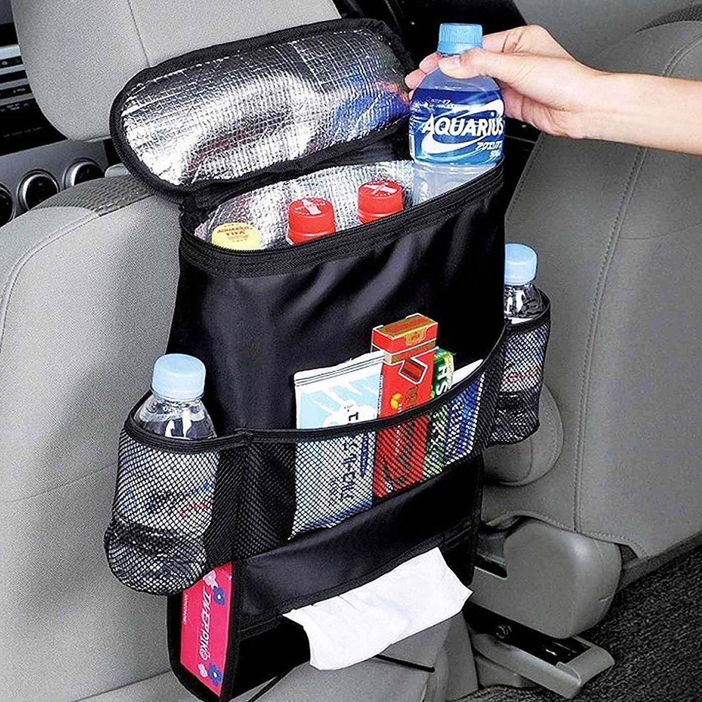 Extra Large Backseat Organizer | + BONUS KICK MAT | Fits iPad | Detachable Pocket | Baby Toys Storage and Car Backseat Organizer for Kids | Lifetime by Dino Comfort   B07PLKLY2M