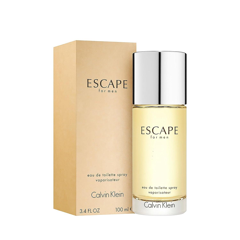 Calvin Klein Escape For Men Eau De Toilette 100 Ml Botol Pet Bening Spray Luxury Beauty