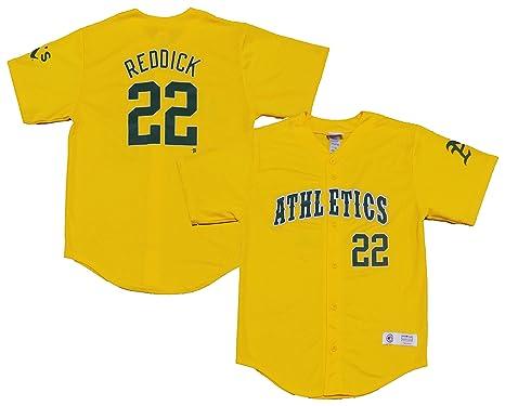 on sale fd098 9db53 Amazon.com: Outerstuff Josh Reddick Oakland Athletics #22 ...