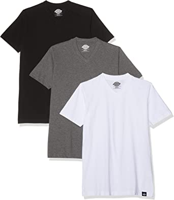 Dickies Multi-Color V Neck T-Shirt Pack Camiseta para Hombre ...