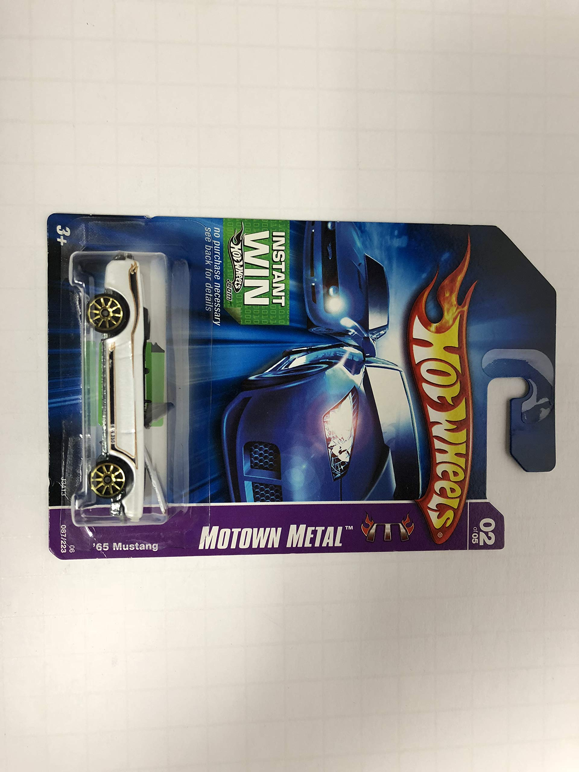 '65 Mustang Motown Metal No. 087 Hot Wheels 2006 1/64 scale diecast car