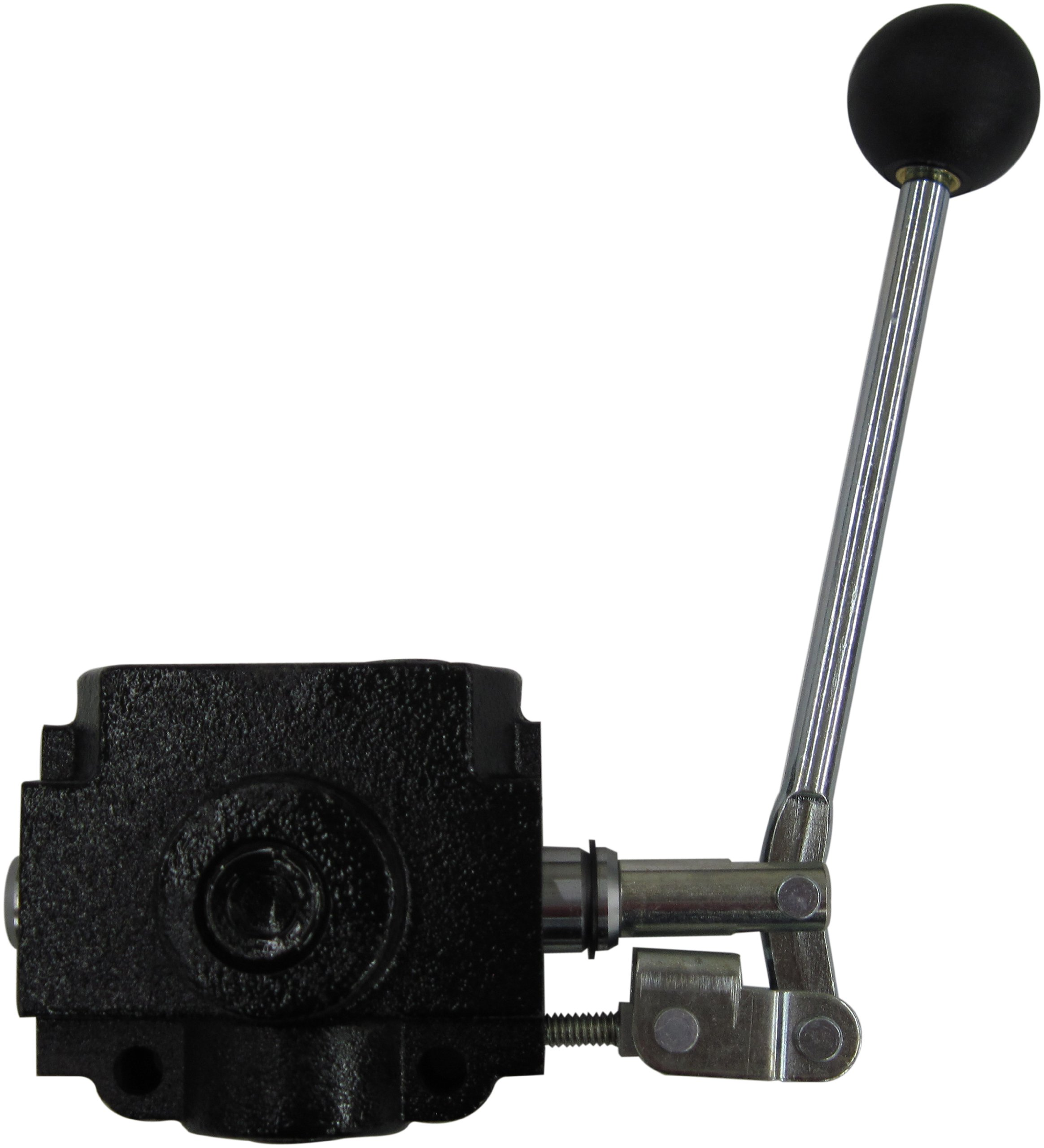 Prince SS-2A1E Selector Valve, Monoblock, Cast Iron, 1 Spool, 3 Ways, 2 Positions, Lever Handle, 2500 psi, 20 gpm, 1/2'' NPT Female