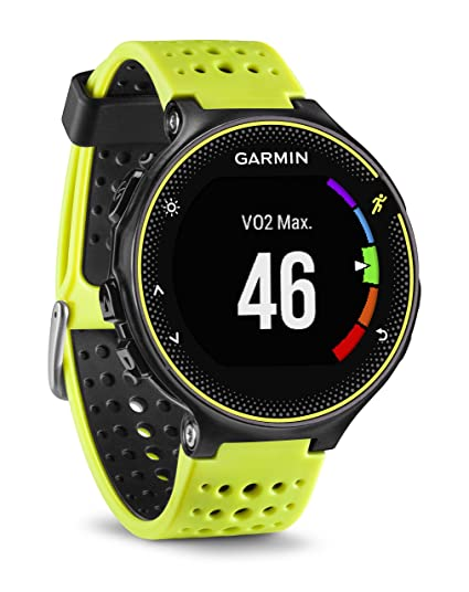 Amazon.com: Garmin 010-03717-52 Forerunner 230 GPS Unit, Yellow/Black - Europe Version: Cell Phones & Accessories