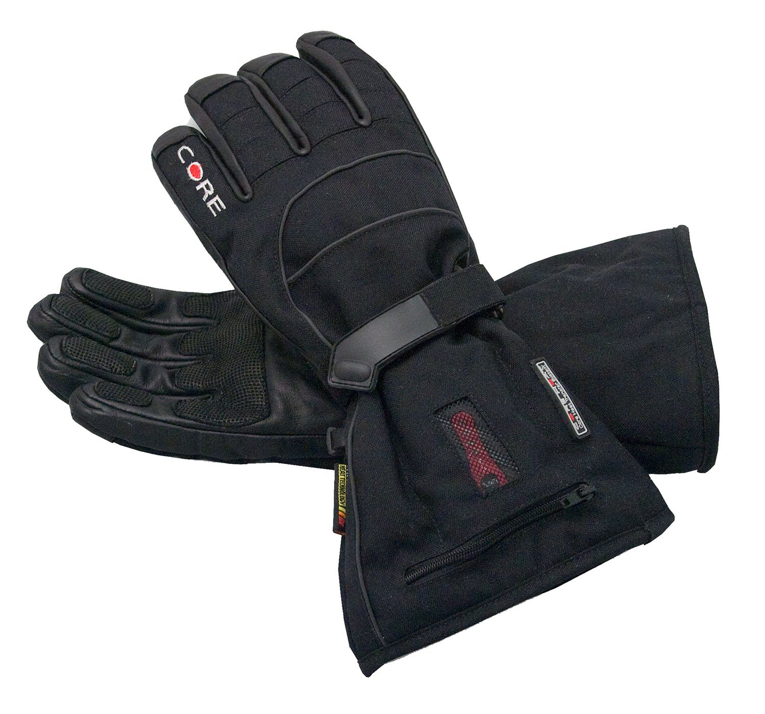 Amazon Heated Core Heat S2 Gloves Battery Powered Mens Black M Sports Outdoors