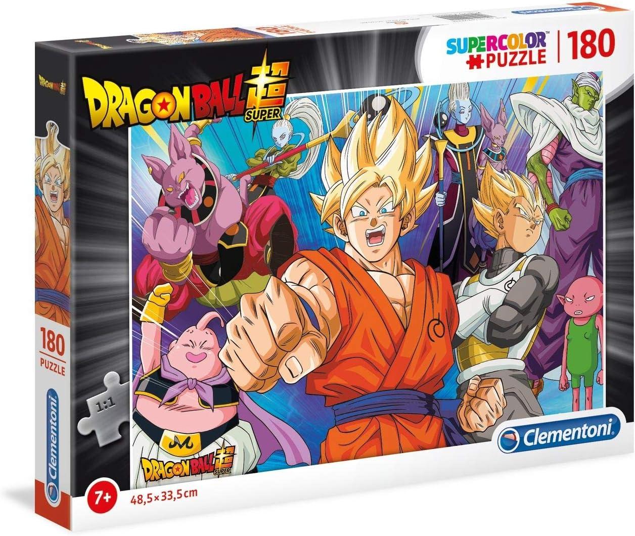 Clementoni Supercolor - Puzzle de 44 Gatos, 60 Piezas 180pezzi Dragon Ball: Amazon.es: Juguetes y juegos