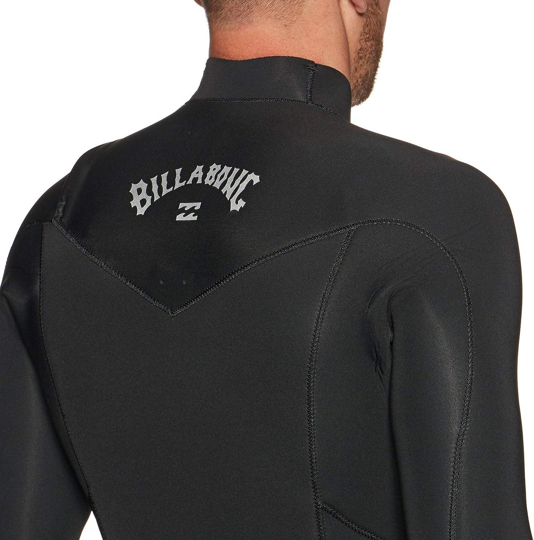 BILLABONG Mens Furnace Absolute Combinaison Zip Poitrine 5 4mm Noir Couche de Chaleur Chaude Thermique Couches Doublure de Four Facile /Étirer
