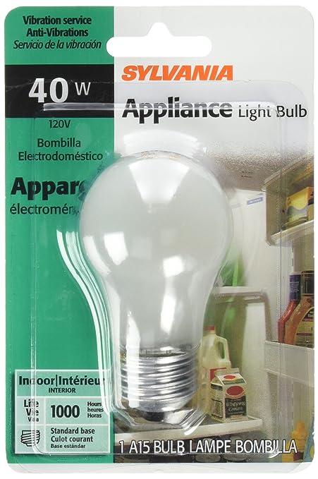 Sylvania Light Bulbs Customer Service: SYLVANIA LIGHTING 10117 40W/A15 Appliance Bulb - Incandescent Bulbs -  Amazon.com,Lighting