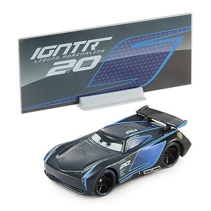 Amazon Com Disney Pixar Cars 3 Jackson Storm Die Cast Vehicle Toys