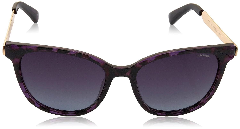 Polaroid Damen Sonnenbrille Pld 5015/S JR Lim, Pink (Pink Havana Gold Copper/Burgundy Sf Pz), 55