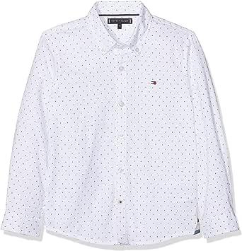 Tommy Hilfiger Mini Pattern Oxford Shirt Blusa para Niños
