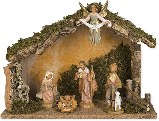 Ange Gloria 19/cm en r/ésine Figurine Fontanini Cr/èche