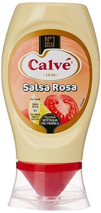 8 opinioni per Calvé- Salsa Rosa, Senza Glutine- 250 ml
